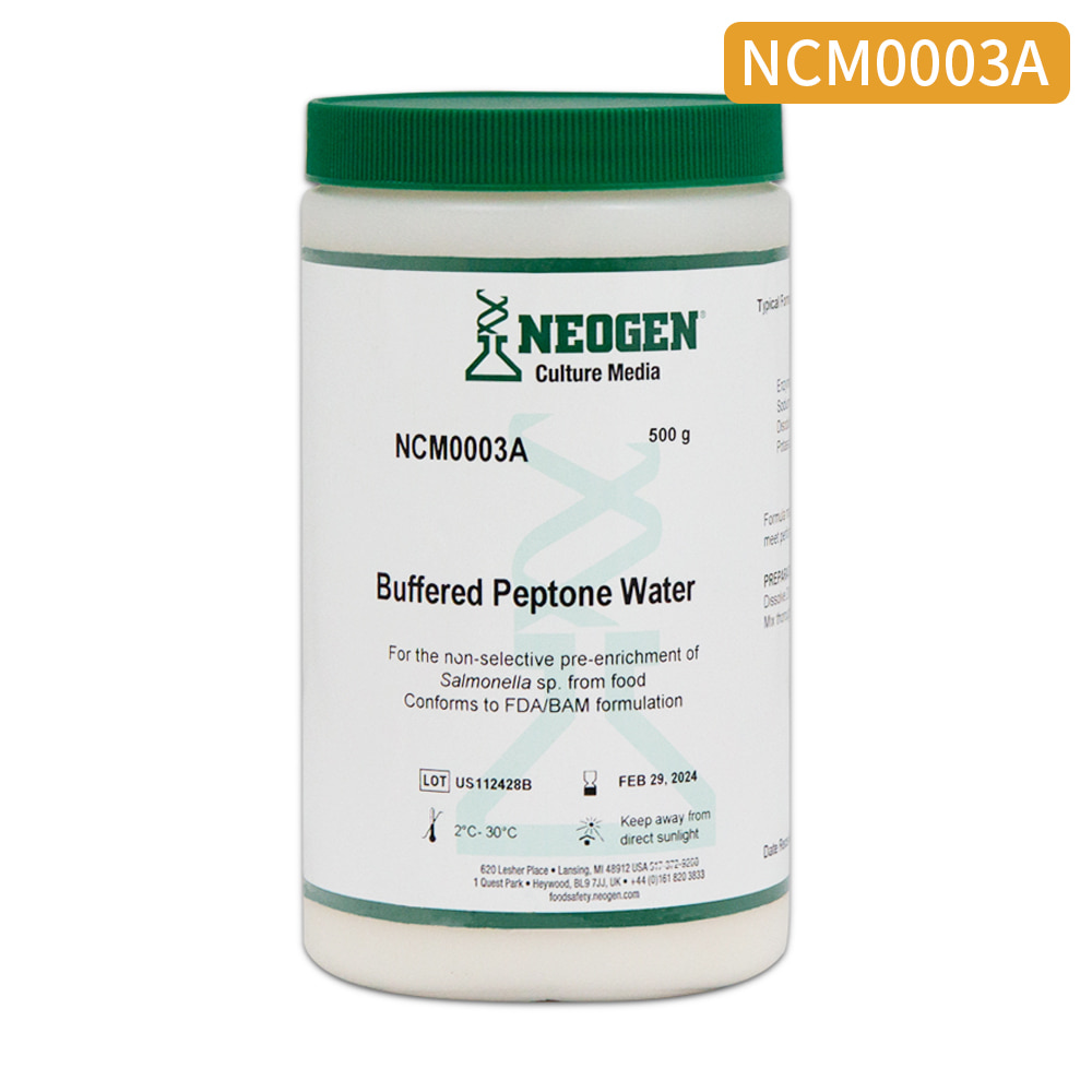 [NEOGEN]BPW(Buffered Peptone Water) 500g (002554)